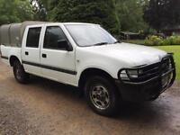 Vauxhall Brava 2.5Di ( 4x4 ) 2002MY double cab pickup isuzu tf td cumbria