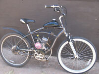 SCHWINN 66CC MOTORIZED BIKE WORKS GREAT. [FIRM]