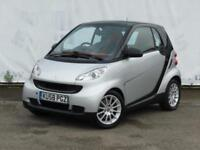 2008 SMART FORTWO COUPE 1.0 PASSION 84 BHP FULL SERVICE HISTORY PANORAMIC GLASS