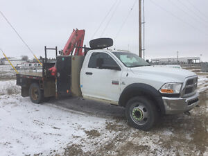 2011 Dodge 5500 Picker Truck