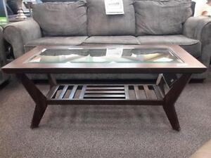 *** NEW *** ASHLEY LANQUIST COFFEE/END TABLES   S/N:51245387   #STORE905