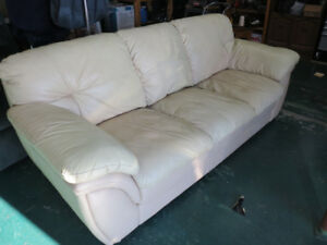Leather Sofa And Power Chair