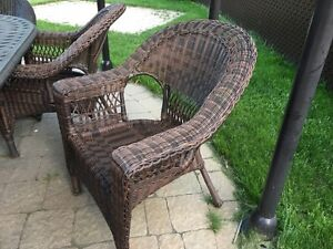 Patio chairs (6)