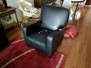Free Leather Arm Chair