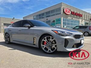2018 Kia Stinger GT Limited | Eibach Springs | Wrapped Hood
