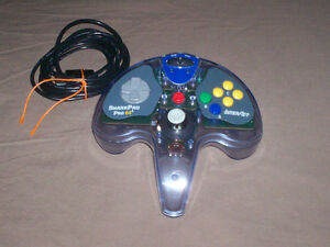 BOXED NINTENDO 64 SHARKPAD PRO CONTROLLER TESTED GREAT SHAPE West Island Greater Montréal image 4