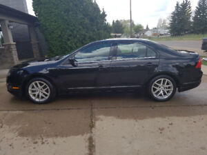 2010 Ford Fusion SEL AWD w/ winter tires and rims