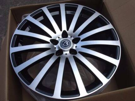 $185 EACH--NEW 20X8 Wheels suits Holden Commodore,BMW3