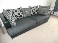 DFS Sofa 2 and 3 seater. Grey condition