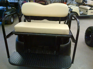 Golf Cart Rear Flip Seats / Rear Seats