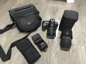 Boitier Nikon D70S et accessoires