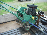 Aerator rentals. Delivery and pick up available