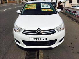 Citroen C4 1.6HDi 16v ( 90bhp ) VTR+ Desiel Only £20 Road Tax For Year