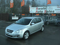 2009 KIA CEED SR-7 1.6L ONLY 60,489 MILES, FULL SERVICE HISTORY, 2 OWNER
