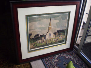 """A.J. Casson - """" Country Crisis """" -  Limited Edition Print Kitchener / Waterloo Kitchener Area image 3"""