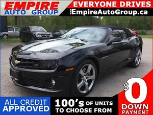 2011 CHEVROLET CAMARO 2SS * RWD * CONVERTIBLE * LEATHER * LOW KM