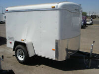 Looking for a 5x8 enclosed trailer