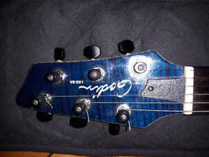 Guitare électrique GODIN LGX-SA synth access 980 $
