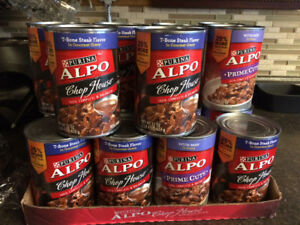 Large can alpo can dog food