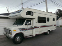 1989 Ford Corsair Motorhome with Safety Inspection & Generator
