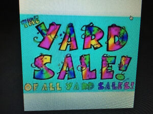 Bigger and Better Yard Sale