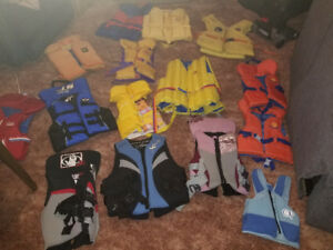 12 flotation devices for kids. only $10 each.  text 2264489639