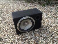 Xplode bass bin perfect working order £10-£15