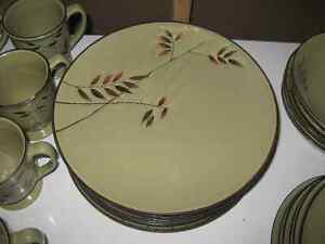 Bamboo Plate Set - $35.00 obo Kitchener / Waterloo Kitchener Area image 2