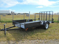 "New 2018 7'x14' ""Rainbow"" RSE ATV/UTILITY TRAILER Red Deer Alberta Preview"