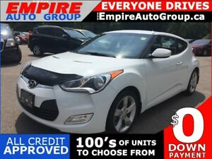 2014 HYUNDAI VELOSTER REAR CAM * BLUETOOTH * HEATED SEATS * LOW