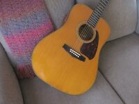 Vintage Ibanez Acoustic/Electric Guitar- made in Japan