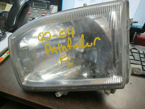 HEADLIGHTS NISSAN PATHFINDER 2000-2004 FRONT LEFT RIGHT USED