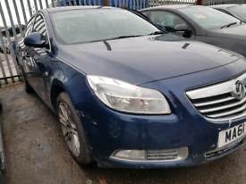 Breaking spares parts Vauxhall insignia 2012 1.9 bumper wing door ligh