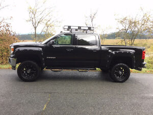 Lifted 2014 GMC Sierra 1500 SLE intellilink Pickup