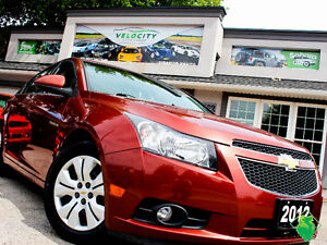 '12 Chevy Cruze LT Turbo+Cruise+A/C+MINT+SIRIUS! Only $65/Pmts!!