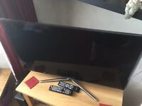 Samsung 40 inch smart 3D Tv slimline