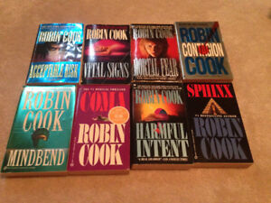 8 Robin Cook Books For Sale!