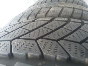 4 pneu hiver Continental 225/45R18 bons pour 2-3 hivers