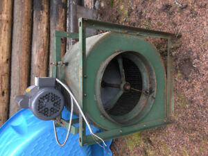 Exhaust blower.   Commercial grade  older but serviceable