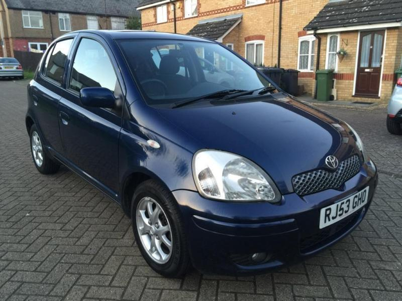 2003 toyota yaris 1 3 vvt i t spirit 5dr in luton bedfordshire gumtree. Black Bedroom Furniture Sets. Home Design Ideas