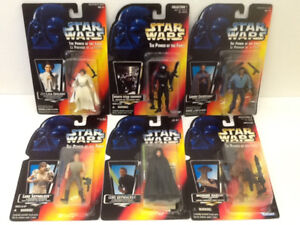 Star Wars POTF 1995 Carded Figures Collection ( 18 )