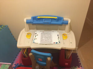 Kids Art Table and Chair