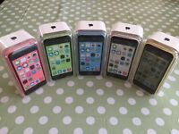 APPLE IPHONE 5C 16GB unlocked brand NEW condition All colour available