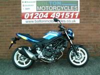 PRE REGISTERED SUZUKI SV650AL7 MOTORCYCLE