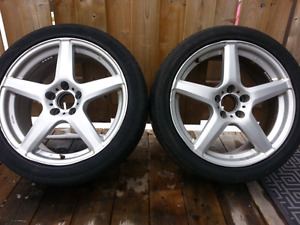 Set of four 18 inch rims.