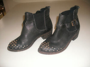 TOP SHOP a Well Known Top Quality Brand, Leather Studded Booties