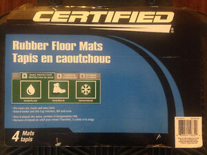 New Certified Rubber Floor Mats for Cars, Trucks, SUVs, Vans Kitchener / Waterloo Kitchener Area image 2