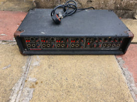 Macgragor Amplification,SS500,250W per channel