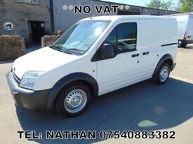 2005 55 FORD TRANSIT CONNECT SWB, *NO VAT* ONE OWNER -BOLTON COUNCIL, PLY LINED,
