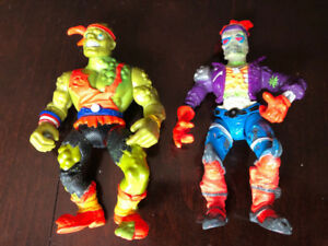 VINTAGE TOXIC CRUSADERS, BONEHEAD AND TOXIE, TOXIC AVENGER